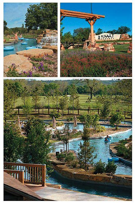 Hyatt Lost Pines Resort, Austin.  Hoping it is as much fun as the San Antonio one!!