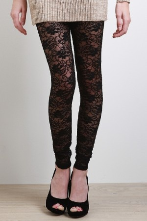 lacy leggings: Lace Legs, Lace Tights, Fashion Fav, Sweaters Dresses, Lace Leggings, Leather Legs, Lists, Woman Jeans, Lacy Legs