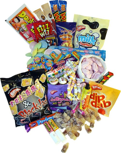 If you're a big kid who used to bin your packed lunch and spend all your pocket money at the tuckshop then you'll enjoy these retro treats - space dust, wham bars, sherbet fountains, fruit salads, drumstick lollies and all the other tuckshop treats you can think of!