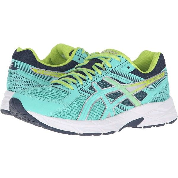 ASICS GEL-Contend 3 (Cockatoo/Neon Lime/Dark Navy) Women's Running