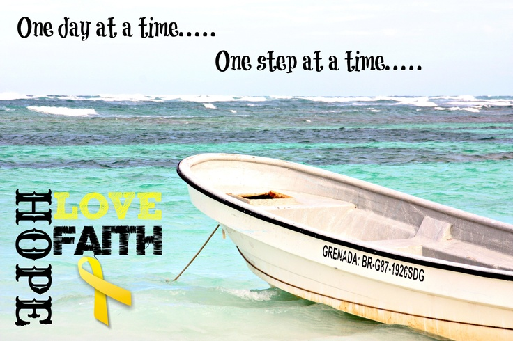 this boat was tethered off our beach in the Domincan, and Cj's mantra is the verse