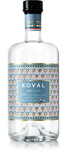 Koval Dry Gin by Dando Projects
