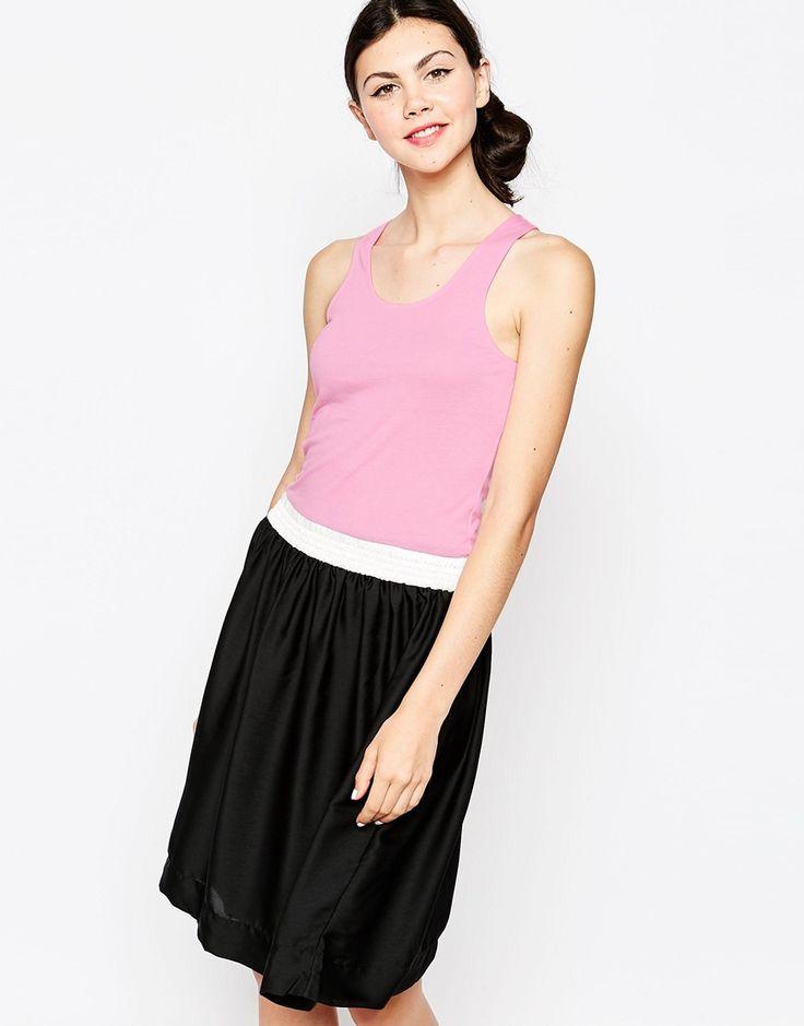 Kleid von Sonia by Sonia Rykiel weiches Jerseyoberteil U ...