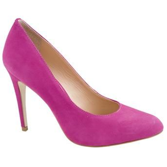 Love the colour on these heels from Jones the Bootmaker!