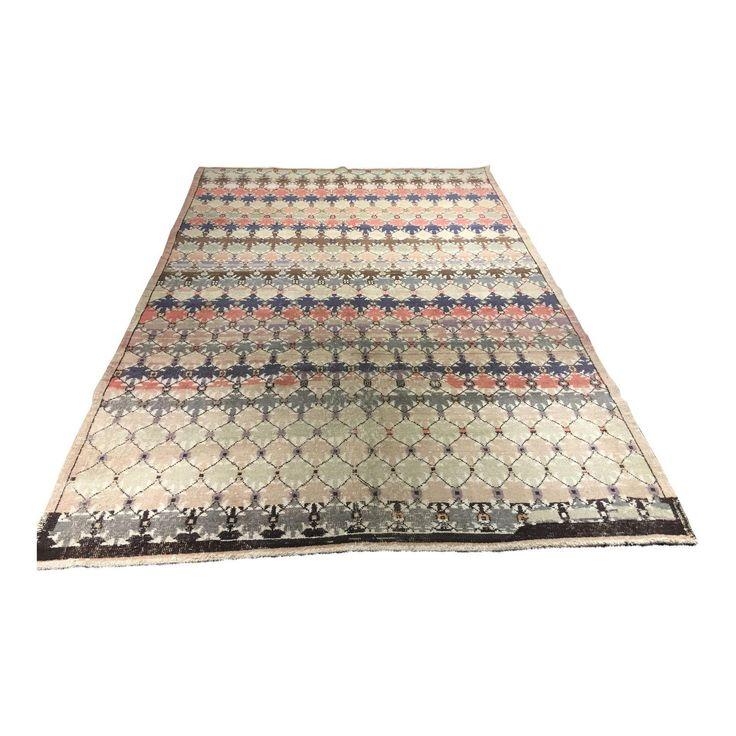 Image of Bellwether Rugs Vintage Turkish Zeki Muren Rug - 6'x9'