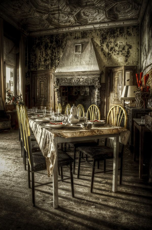 Abandoned Chateau Somewhere In Europe Urbex Trip With