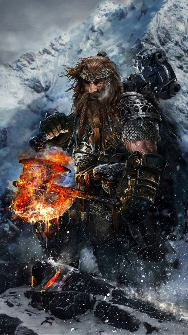 Padraic Emberedge, the Dwarven leader of the Defenders Guild and thus commander of the Dwarven Guard of the Silent Kings