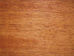 La caoba es la madera de dos especies de árboles de la zona intertropical: la caoba de las Indias occidentales y el caobo, ambas pertenecien...