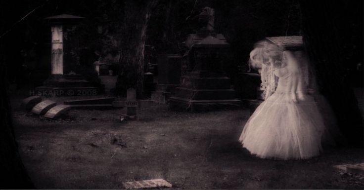 10 fotos assustadoras que farão acreditar em fantasmas