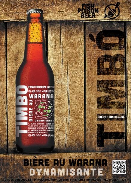 Timbo, la bière dynamisante 100% naturelle - Via Innova