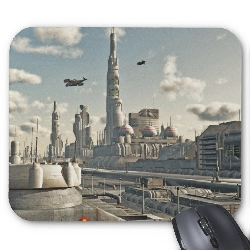 Future City Streets Mousepads by scififantasies. I want all of you with a Zazzle account to please fan up to this store! http://www.zazzle.com/scififantasies