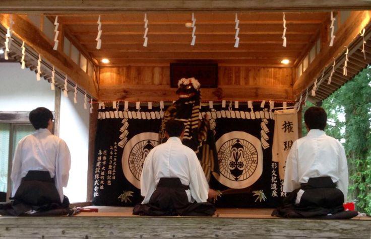岳の早池峰神楽 権現の舞