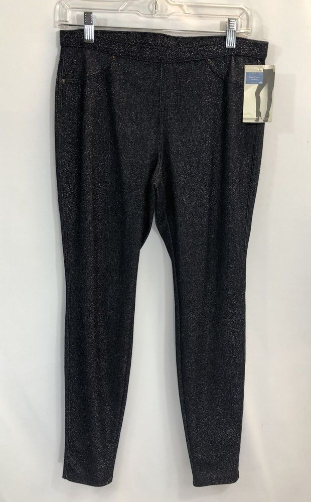 0ae6173a0c058f Simply Vera Wang Denim Leggings Womens Size Medium 8-10 Jeggings Pockets  #SimplyVeraVeraWang