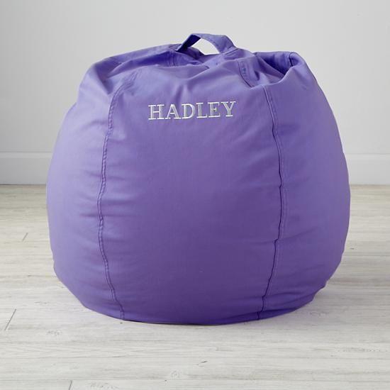 """30"""" Cool Beans! Purple Bean Bag Chair"""