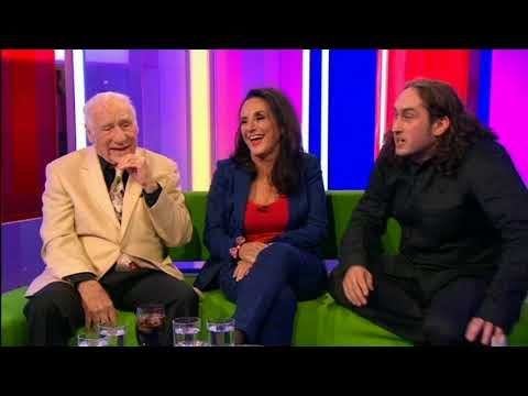 Mel Brooks & Ross Noble Young Frankenstein stage show interview
