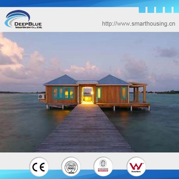 Beautiful Over Water Prefabricated Bali Wooden Houses , Find Complete Details About  Over Water Prefabricated