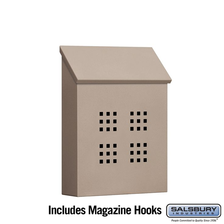 Salsbury Industries Traditional Mailbox Decorative Vertical Style