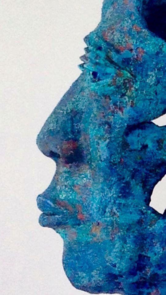 "JANKO de Beer | Art on Twitter: ""Some like it blue #perspective #blue #tones…"