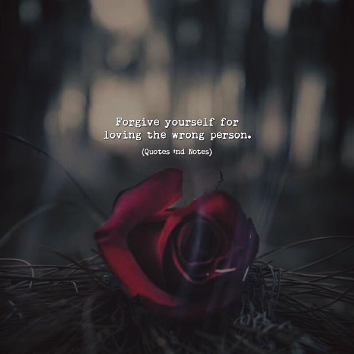 Forgive yourself for loving the wrong person. via (http://ift.tt/2sEizBe)