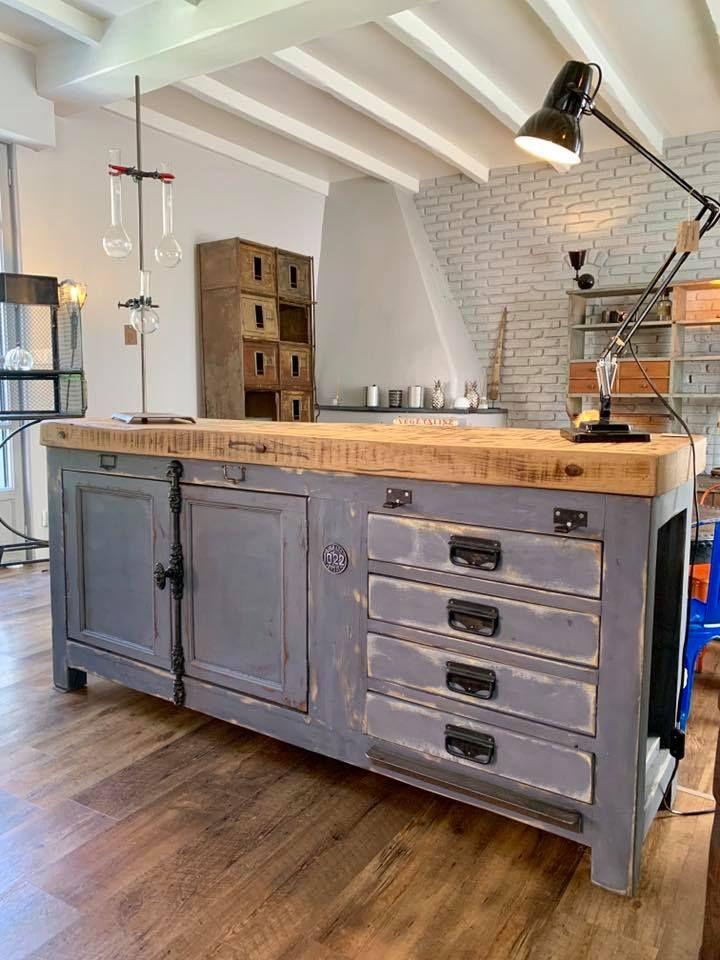 Meuble De Metier Industriel Sobrocindus Home Decor Furniture Home