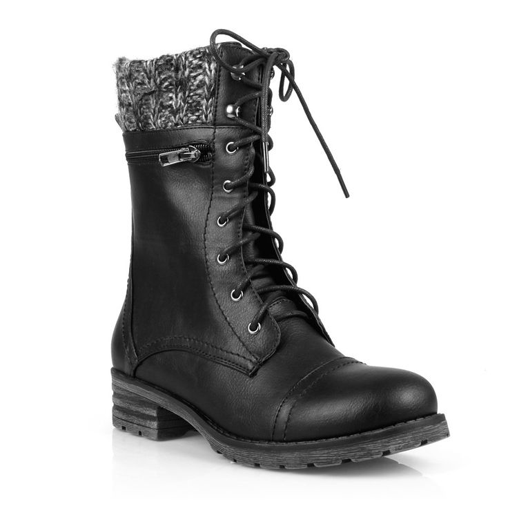 We love the new:  Mark and Maddux L...    Check it out here! http://www.musthaveshoesandmore.com/products/mark-and-maddux-lace-up-womens-mid-calf-boots?utm_campaign=social_autopilot&utm_source=pin&utm_medium=pin