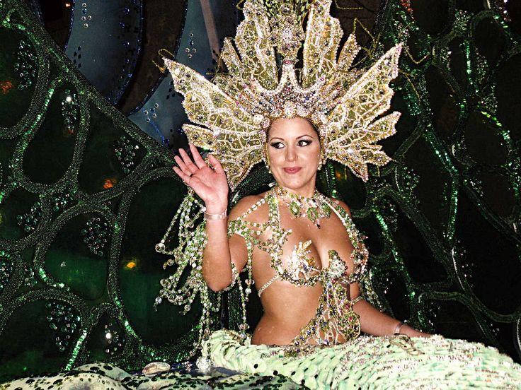 Carnaval in Santa Cruz de Tenerife on the Canary Islands, Spain.