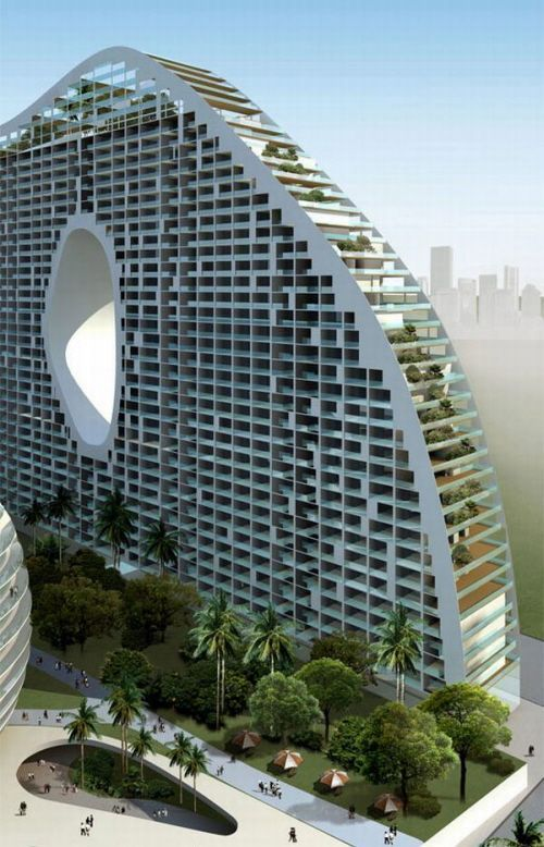 Pin By Newman Garrison Partners On Unique Apartment Buildings Building Design Facade Futuristic Architecture