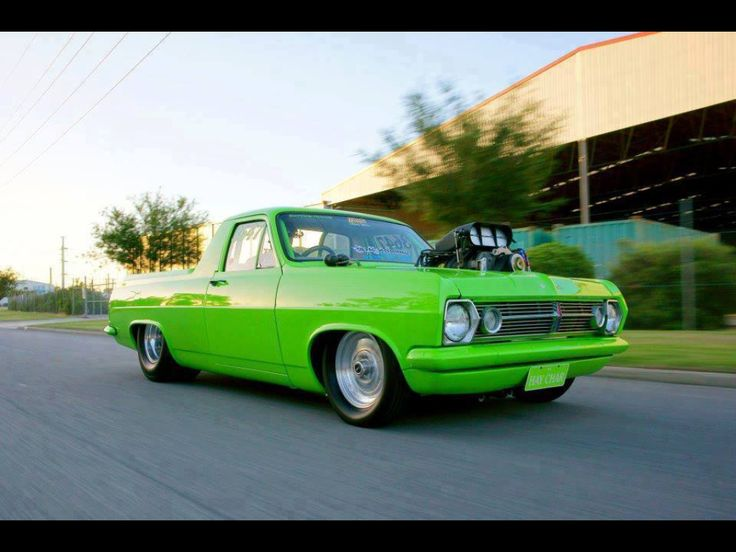 #Hr #Holden #Ute wrapped in Green awesome