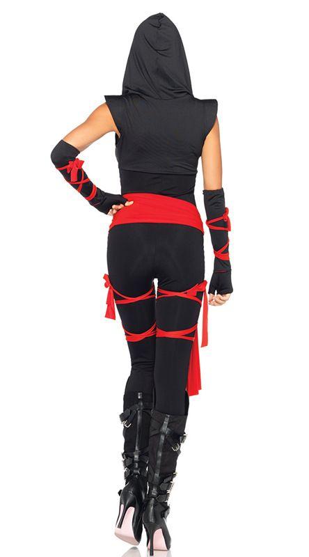 В масках ниндзя воин женщины хэллоуин косплей пиратские одежды черный ниндзя одежды одежда костюмы ночь игры купить на AliExpress