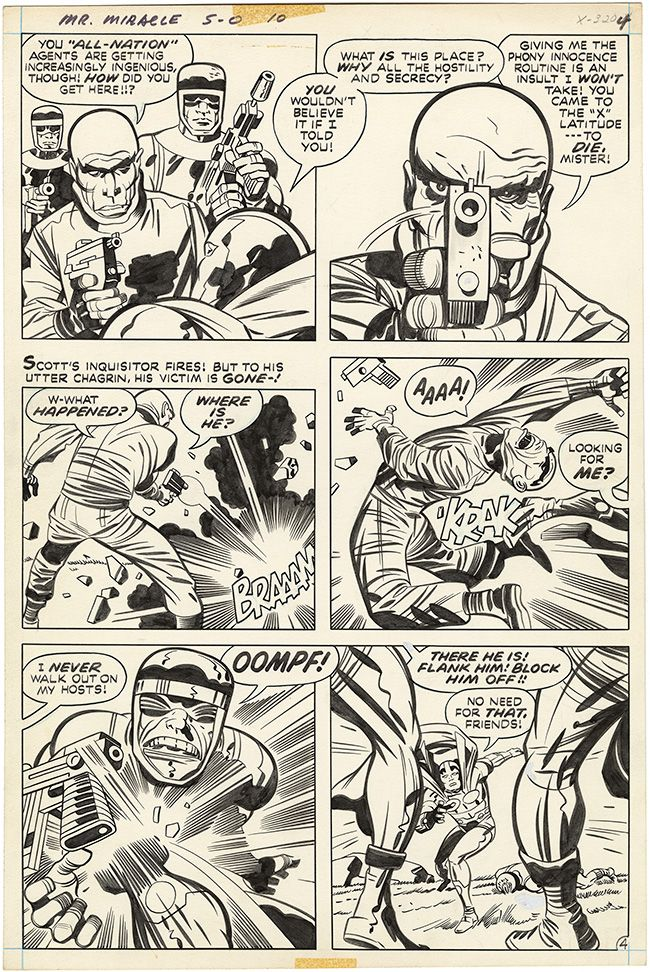 Mister Miracle, Issue 10, Page 4