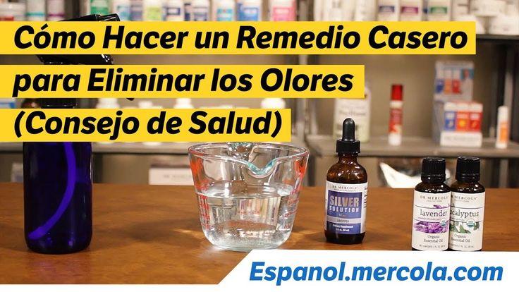 Cómo Hacer un Remedio Casero para Eliminar los Olores (Consejo de Salud)