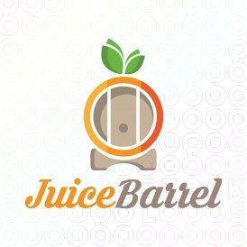 Exclusive Customizable Logo For Sale: Juice Barrel | StockLogos.com https://stocklogos.com/logo/juice-barrel