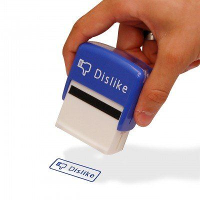Like en Dislike Stamps