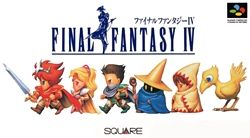 Final Fantasy IV (ファイナルファンタジーIV) is a role-playing video game developed and published by Square (now Square Enix) in 1991 as a part of the Final Fantasy series.