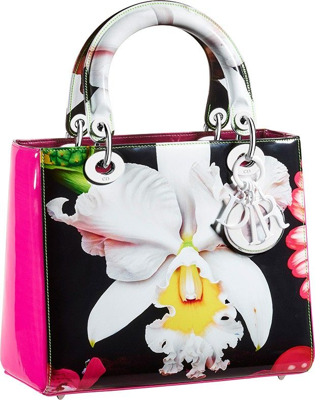 Dior Lady Bags: Collaboration With Artist Marc Quinn