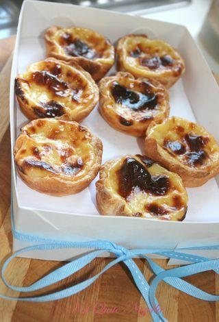 Portuguese custard tarts - Not Quite Nigella.  Nothing short of awesome!!