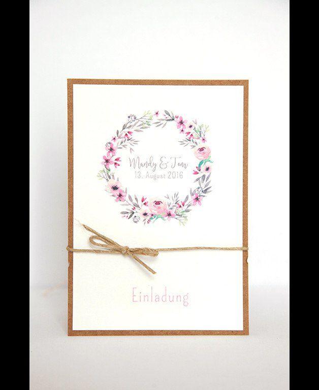Einladungen Zur Hochzeit   DIY Kit   Mandyu0026Tom