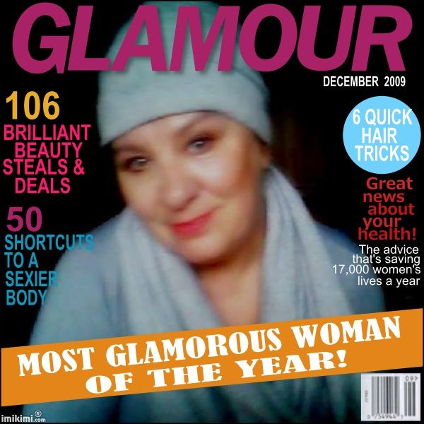 Glamour Magazine -winnie-