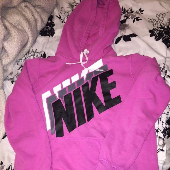 Women's Nike Pullover Hoodie Women's Pink Nike Pullover Size Large! Nike Tops Sweatshirts & Hoodies