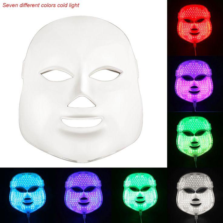 New Korean Photodynamic LED Facial Mask Massager Home Use Beauty Instrument Anti acne Skin Rejuvenation Face Mask