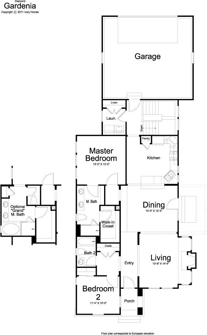166 Best Ivory Homes Floor Plans Images On Pinterest