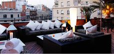 Terrace at Hotel Villa Emilia Barcelona