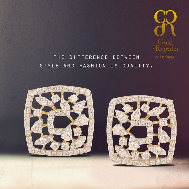 The difference between style and #Fashion is quality. http://goo.gl/sRa6wp #WomensJewelry #ClassyJewelry #DiamondJewelry #DiamondEarring #EarringsOnline