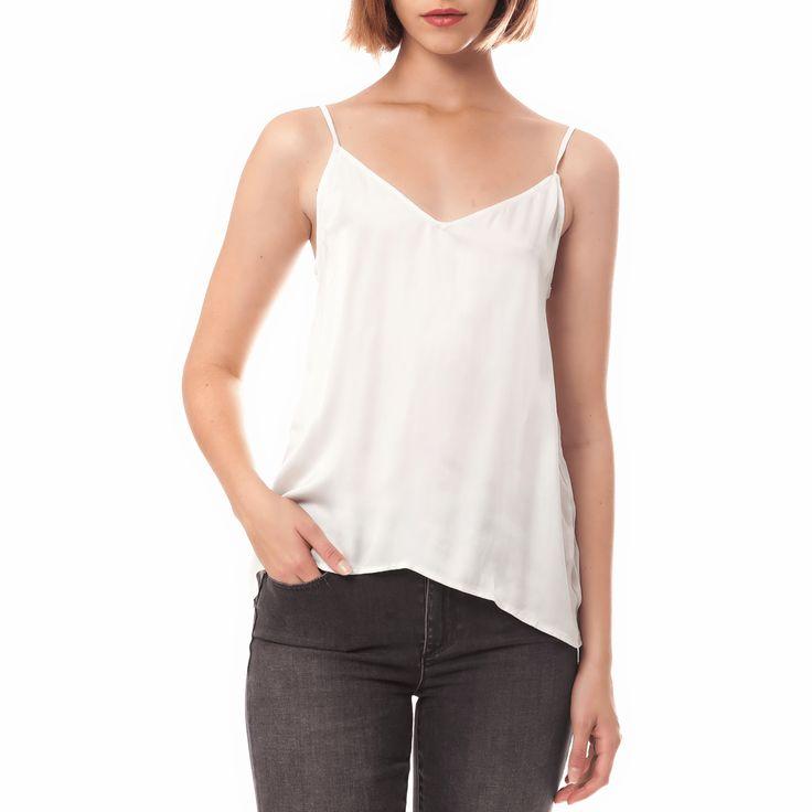 AMERICAN VINTAGE - Γυναικεία μπλούζα American Vintage ημίλευκη μόνο 63.00€ #deals #style #fashion
