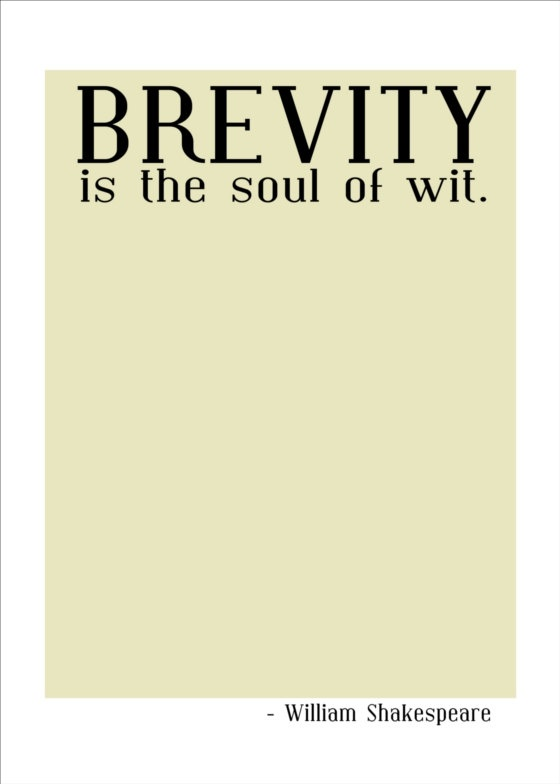 sample college brevity is the soul of wit essay brevity is the soul of wit essay nirman in