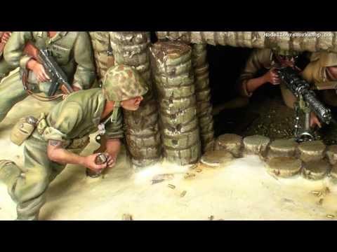 Battle of Tarawa   Diorama of the Day