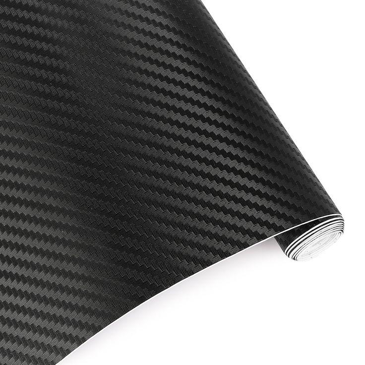 200cmX40cm 3D Car Film Carbon Fiber Vinyl Film Carbon Fibre Wrap Sheet Roll Film Car Stickers Motorcycle Car Styling Accessories