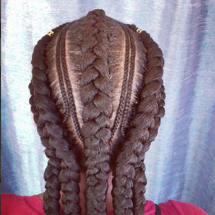"Most commonly known as ""goddess braids,"" cornrows, a style we've all grown u… …   – goddess box braids"