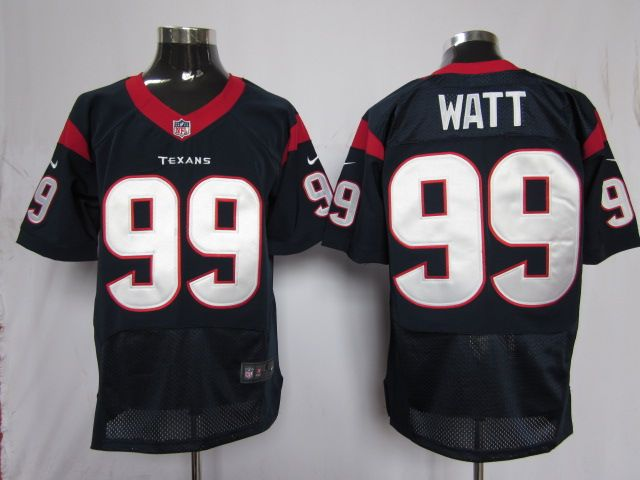Nike ELITE houston texans watt blue NFL Mens Jerseys - What my baby got  this Christmas