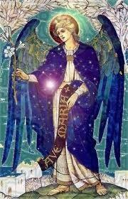 Pendentif ange de l'Archange Gabriel livraison par Elysiumpendants